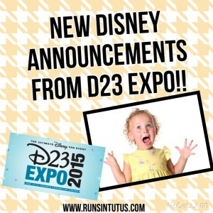 New Disney announcements have emerged from the 2015 D23 expo! New Star Wars Land, Toy Story Land, Avatar Land and more!