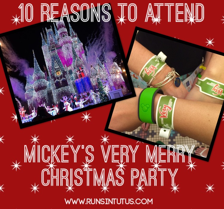 Disney S Very Merry Christmas Party Tickets: 10 Reasons To Attend Mickey's Very Merry Christmas Party